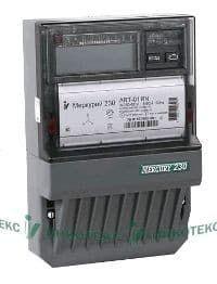 Электросчетчик Меркурий 230 AR-01 CL 5(60)А/400В трехфазный, однотарифный, PLC-модем, фото 1
