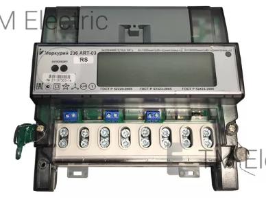 Электросчетчик Меркурий 236 АRТ-01 PQL 5(60)А/400В трехфазный, многотарифный, PLC-модем, фото 1